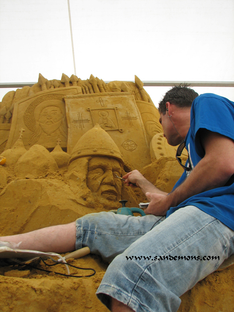 David Sculpting, Moscow