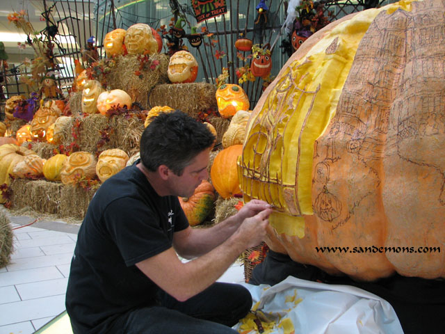 1,137lb Monster Pumpkin