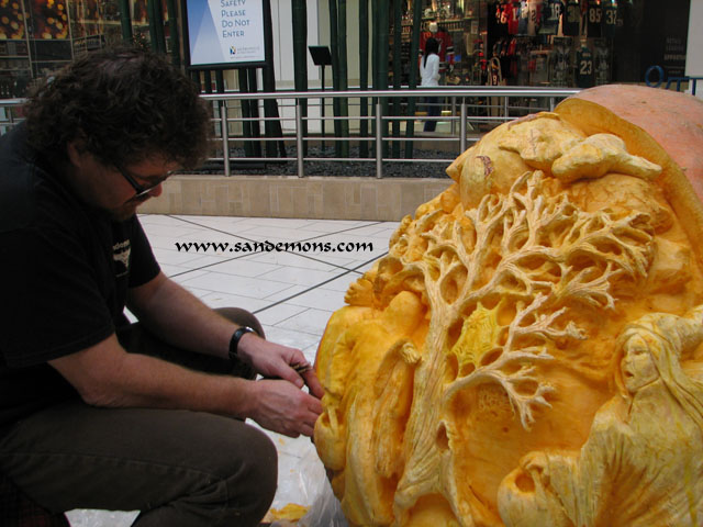 867lb Monster Pumpkin