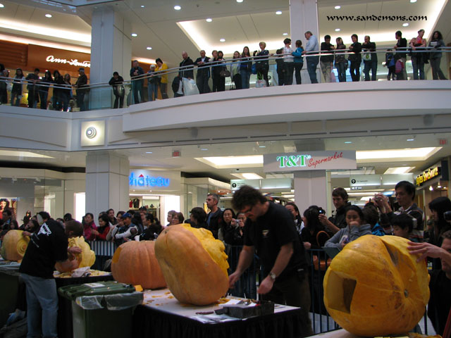 Monster Pumpkin Exhibition